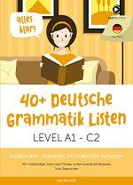 EasyDeutsch Grammatik Listen